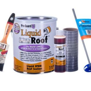 Liquid EPDM Rubber for caravan and motorhome roof repairs