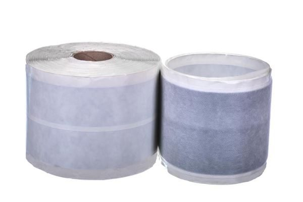 Butyl reinforcing tape for asbestos roof repairs