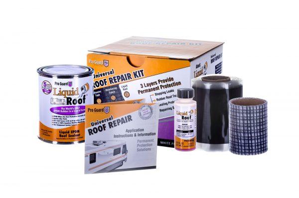 Liquid EPDM Rubber for caravan and motorhome roof repairs