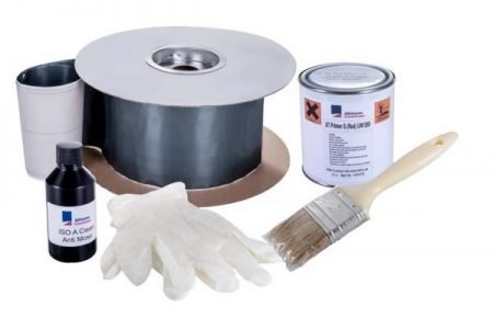 how to repair cracks in asbestos garage roof
