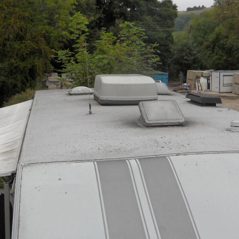 caravan roof repair