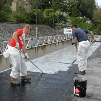 PVC roof repair coating waterproofing sealant