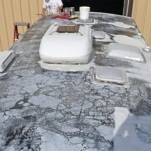 motorhome roof leaking needs repair DIY kit