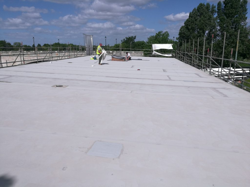 epdm roof membrane repair coating
