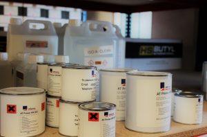 liquid rubber tins for asbestos and metal roof repair