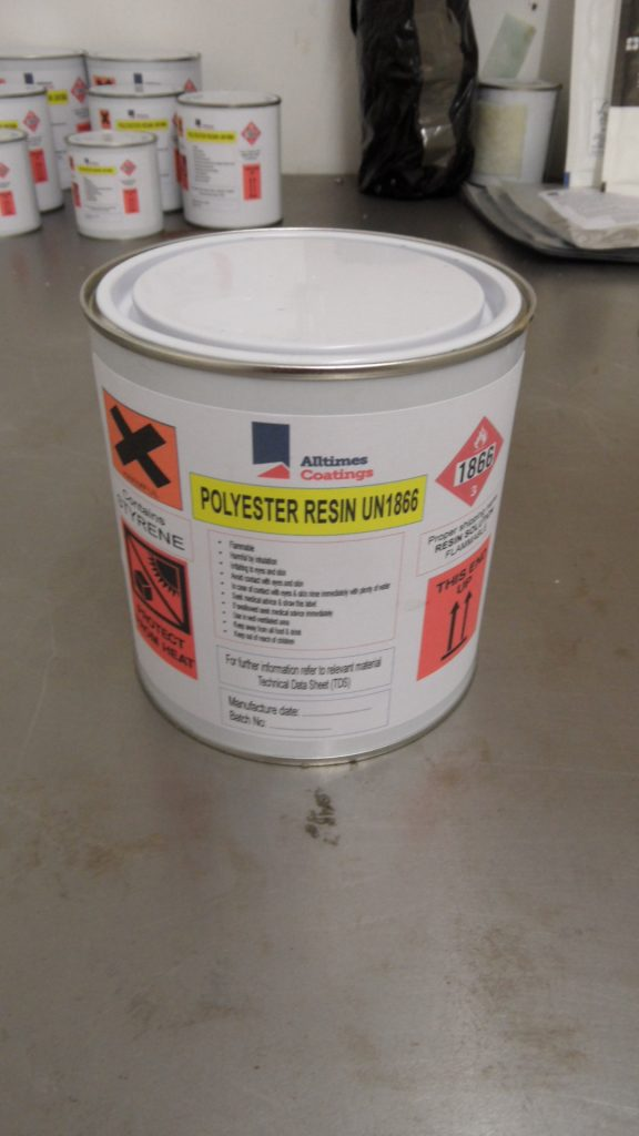 Fibreglass And Asbestos Roof Repair Uv Curing Polyster
