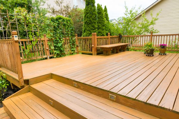 decking treatment decking cleaner then treated with protective coating