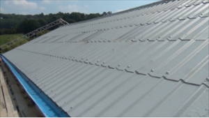 How to repair asbestos roof and gutter