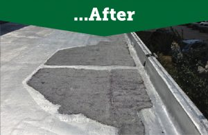 flat roof pooling solutions