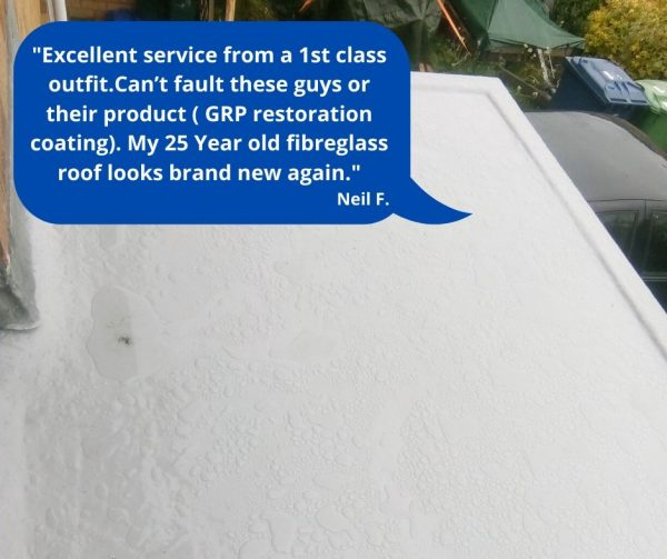 how to fix a fibreglass roof