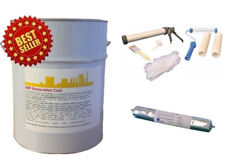 fibreglass roof paint