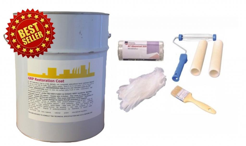 paint for fibreglass roof