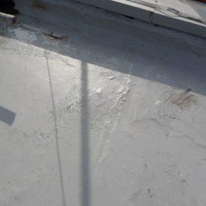 failing EPDM roof