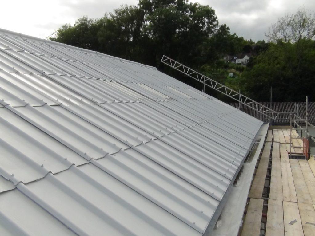 leaking asbestos roof