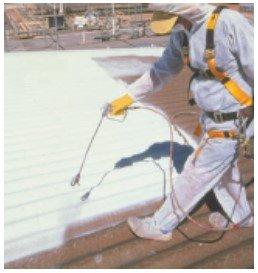 asbestos roof repair paint