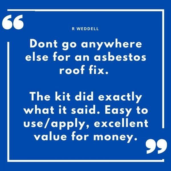 asbestos crack repair